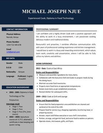 Cv Samples Pdf And Microsoft Word Format Microsoft Word Format Cv Template Free Resume Template Word