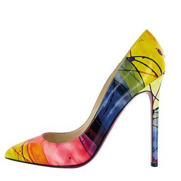 mode designer 966f9 68921 On craque pour les escarpins Louboutin Pigalle modèle ...