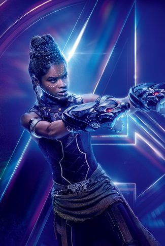 Download Avengers: Infinity War Character Poster – Shuri Wallpaper | CellularNews