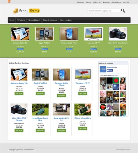 5 Of The Best Wordpress Themes For Auctions Auction Themes Penny Auctions Best Wordpress Themes