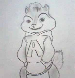 Alvin Desenho Desenho Desenhos