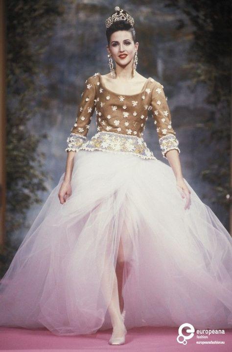 63 VERLAINE Christian Lacroix, Spring-Summer 1991, Couture | Christian Lacroix Christian Lacroix, Spring-Summer 1991, Couture | Christian Lacroix