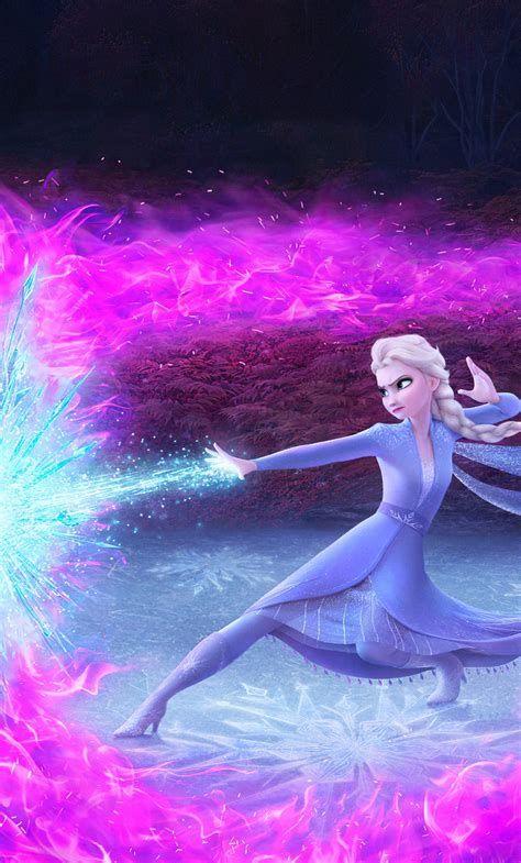 Download 1280x2120 Wallpaper Elsa In Frozen 2, Disney