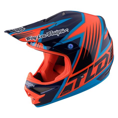 Casque Cross Tld Air Vengeance Navy Moto Cross Pinterest