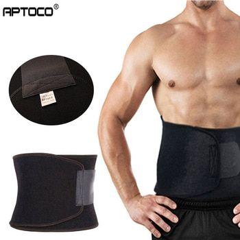 Fat Cellulite Burner Slimming Exercise Waist Belt Body  Neoprene Support Gym