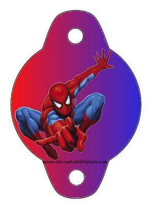 Festalandia E Festeland Spiderman Party Party Printables Inviti Per Festa Spider Man