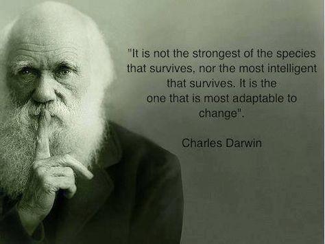 Importance Of Adaptation Darwin Avec Images Paroles