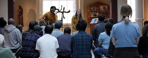 Sam McCormally performed at the Luce Foundation Center on 11/10/13.