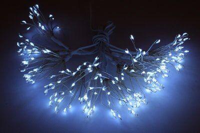 Guirlanda 200 Led 6 8 M Blanco Leroy Merlin Repisas De Ventana Luces De Navidad Luz Led