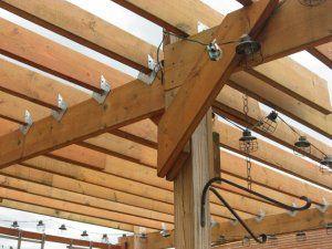 Post Brackets | Backyard Retreat | Pinterest | Pergolas, Decking And Patios