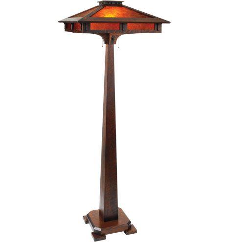 South Haven Floor Lamp Handmade Arts & Crafts Floor Lamp
