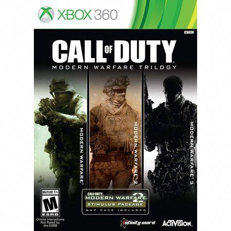 Call Of Duty Modern Warfare Trilogy 3 Discs Activision Xbox 360 047875878068 Multicolor Starcitizencharacter In 2020 Modern Warfare Call Of Duty Warfare