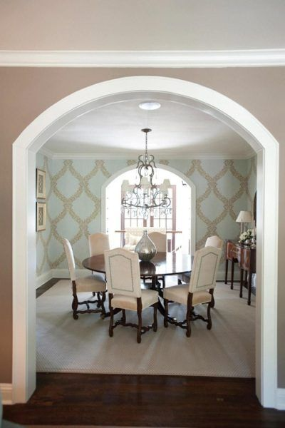 15 Trendy Hall Arch Designs To Deck Up Your House In 2020 In 2020 Dining Room Design Archways In Homes Dining Design
