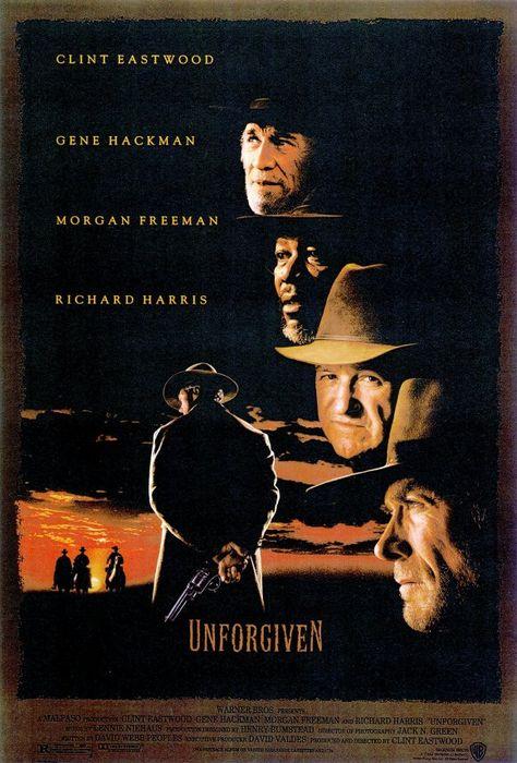 Unforgiven 11x17 Movie Poster (1992)