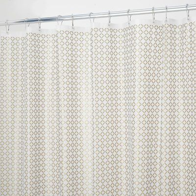 Charlton Home Hallman Vinyl Polka Dots Shower Curtain Liner