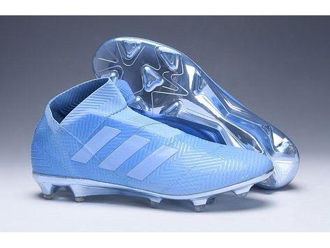 botas de futbol adidas ice azules i negras