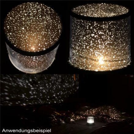 11 Befriedigend Fotografie Von Lampe Sternenhimmel Candle Holders Lamp Candles