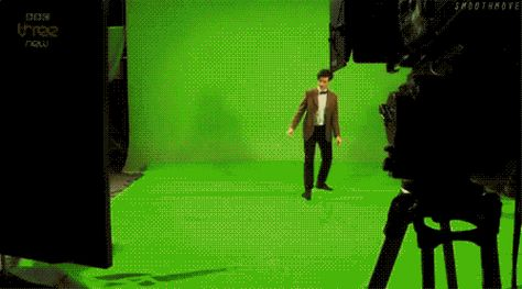"""Doctor Who Matt Smith Eleventh Doctor dancing. Not the """"drunk giraffe"""", but equally awkward. Love it."""
