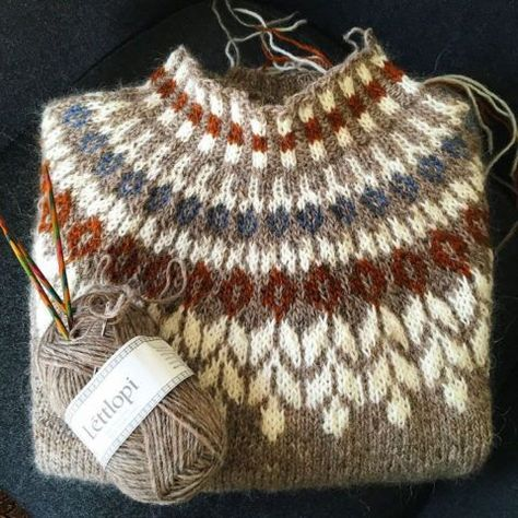 Crochet Patterns Pullover herminehesse: Icelandic Sweaters (my favies to make)
