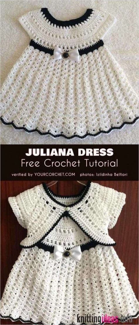 Juliana Dress Free Crochet Tutorial | Your Crochet - Free Knitting Pattern -  Juliana Dress Free Crochet Tutorial | Your Crochet – Free Knitting Pattern  - #crochet #Dress #DressPatterns #Free #juliana #knitting #pattern #PatternDrafting #SewingPatterns #SewingProjects #SewingTechniques #SewingTips #SewingTutorials #tutorial