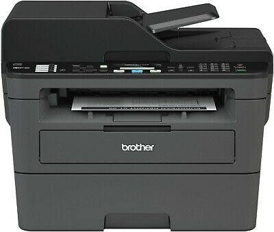 Brother Mfc L2710dw Wireless Black And White All In One Laser Printer Black In 2020 Laser Printer Wireless Printer Multifunction Printer