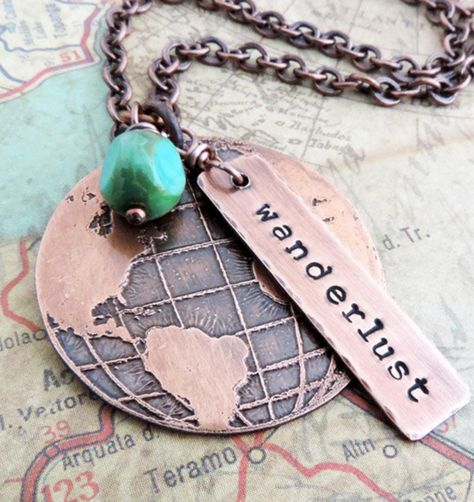 Beautiful Wanderlust Necklace