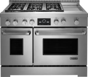 Jenn Air Deals Jgrp548wp 48 Inch Stainless Steel Gas Freestanding Range In Stainless Steel Range Cooker Gas Cooker Cooking Range