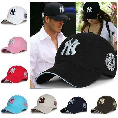 New York Yankees Caps Adjustable MLB Baseball Cap NY Logo