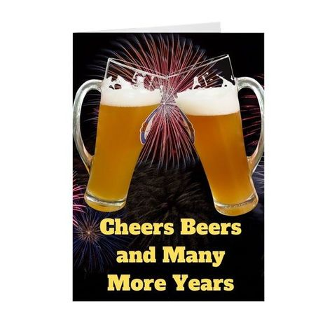 This Is A Beer Birthday Greeting Card Perfect For Beer Lovers Friends And Loved Ones Birthday Lovers B Beer Birthday Beer Birthday Cards Happy Birthday Beer