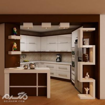 Modular American Kitchen Design Ideas With Breakfast Bar 2019