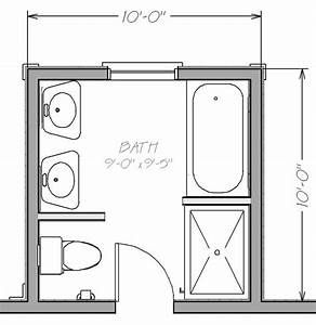 Image Result For 3 4 Bath Layout 2 Sinks Small Bathroom Plans