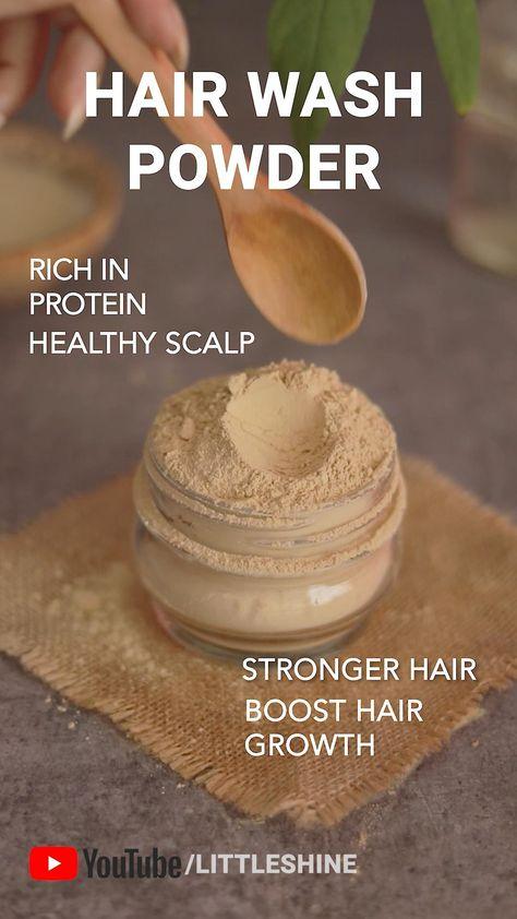 hair wash powder for hair growth