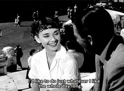 Trendy Funny Face Movie Quotes Audrey Hepburn Roman Holiday 29 Ideas Audrey Hepburn Movies Audrey Hepburn Roman Holiday Classic Hollywood