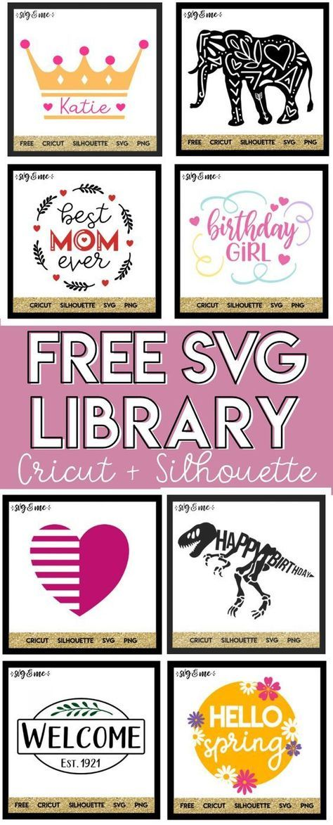 OMG! Hundreds of totally FREE SVG cut files for Cricut and