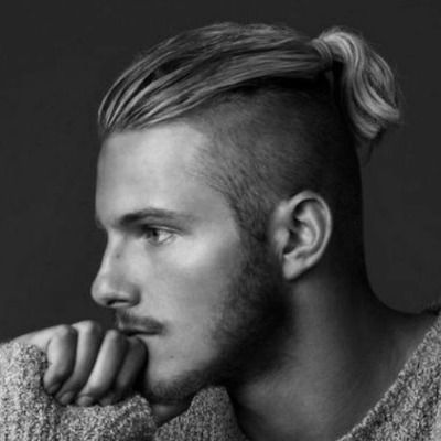 Short Ponytail Mens Mens Ponytail Hairstyles Ponytail Hairstyles For Men Man Ponytail