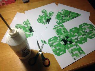 Creeper templates