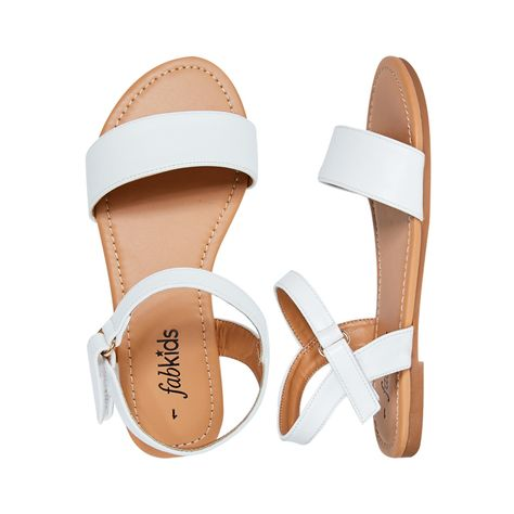 a844b8d5c218 She will look adorable in these on-trend ballet flats! Featuring functional  buckle straps.