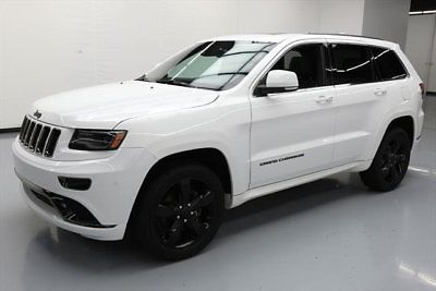 2015 Jeep Grand Cherokee Overland Sport Utility 4 Door Grand