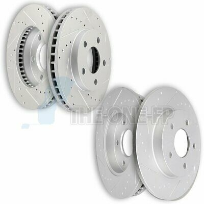 2004 Honda Accord Cpe See Desc. OE Replacement Rotors w//Ceramic Pads F
