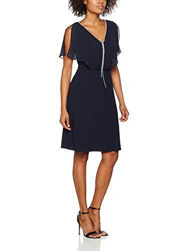 S Oliver Black Label Damen 29703825795 Kleid Blau Blue Love 5959 36 Damen Kleider Kleid Arbeit