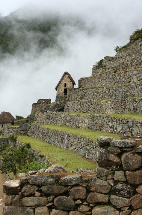 Machu Picchu Terrazas De Cultivo Pircas De Contencion Fcd