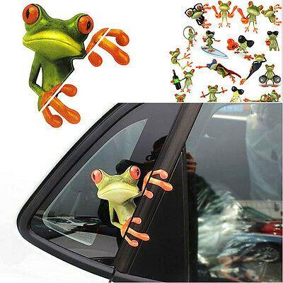 Frog Silhouette Vinyle Voiture Décalque//Autocollant