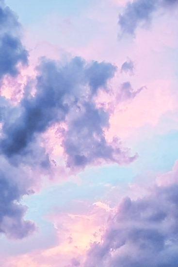 Iphone Wallpaper Blue Wallpaper Iphone Cute Wallpaper For Phone Pink Clouds Wallpaper