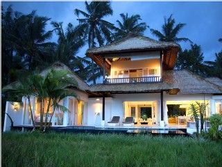 Stunning 3 Bedroom Villa In Ubud Ricefields Private Pool With Views Lodtunduh Ubud Ubud Villas Vacation Home