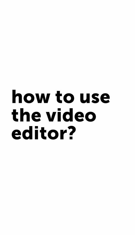 Going live in 3…2…1… action! 🎬💥 In today's PicsArt 101 episode, we're showing you how to create awesome content with our Video Editor. Whatever you do, don't sweat it 🙅♀️🙅♂️ No previous video editing experience is required to become a rising video editing extraordinaire 🌟! Note: Not all features shown here are available on Android ❤️ Click through to check out the full PicsArt 101 series!