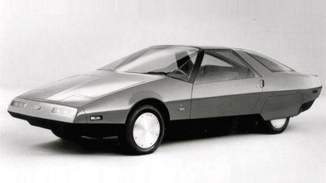 1983 Ford Probe IV Concept Car