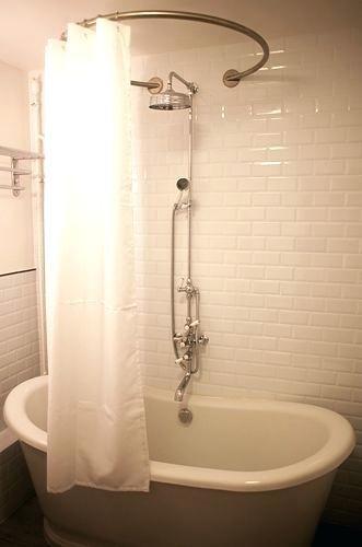 Rail De Rideau De Douche De Plafond Sabot Barre Riau Douche Riau Douche Rail Rideau De Douche Plafond Basic Shower Curtain Shower Curtain Bathtub