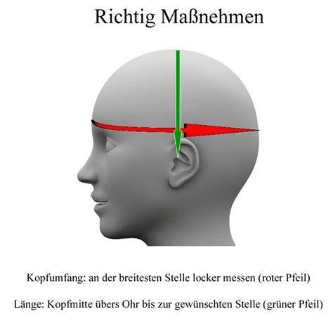 Häkeln Kopfumfang berechnen