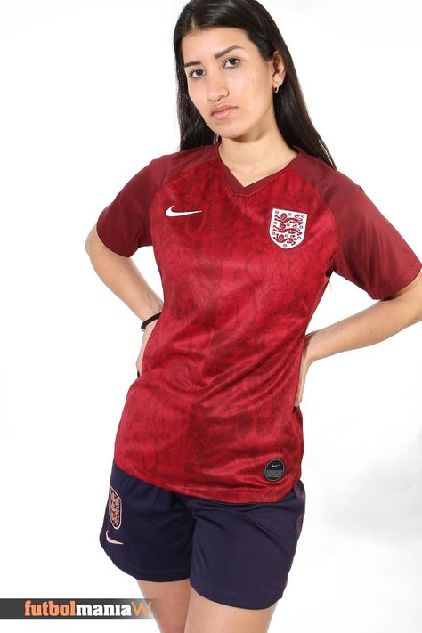 acumular Antagonista Ritual  Camiseta Nike 2a Inglaterra Stadium mujer 2019 | Camisetas deportivas mujer,  Camisetas deportivas, Futbol femenino