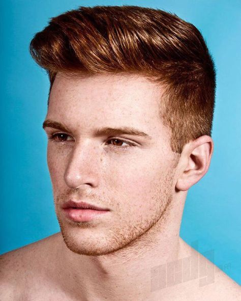 Razor Haircuts With Red Hair In 2019 Red Hair Men Redhead